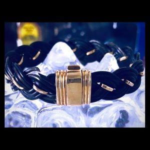 🖤Bry & Co♥️ elephant hair bracelet with gold